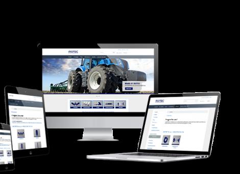 Mockup Onlineshop Webdesign Irotec KLUCKMEDIA Werbeagentur