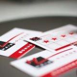 Bonuskarten für Friseure mit Stempel