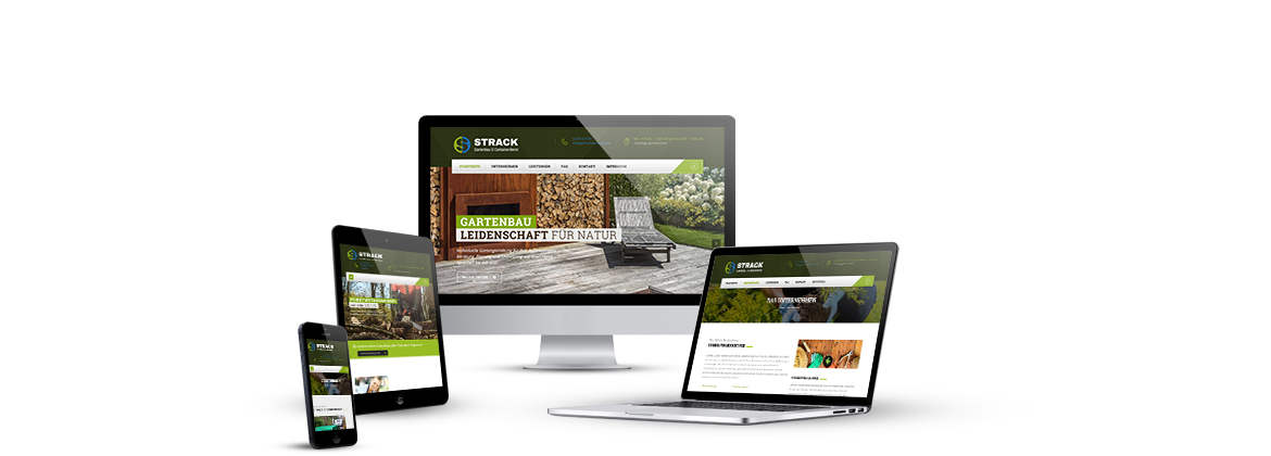 Corporate Design für Gartenbau Strack