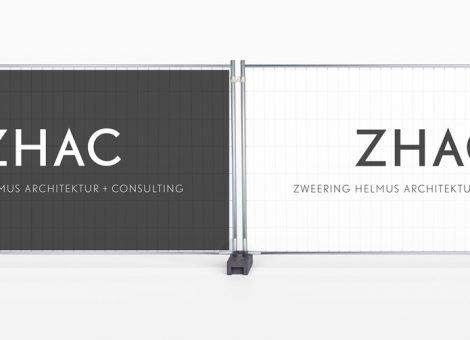 ZHAC Bauzaunbanner Architekten