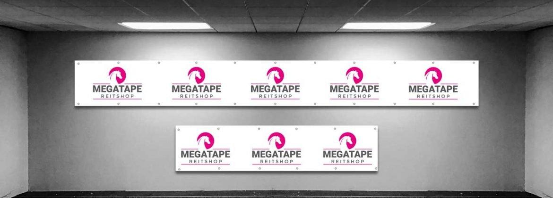 Messebanner Megatape Mesh Banner