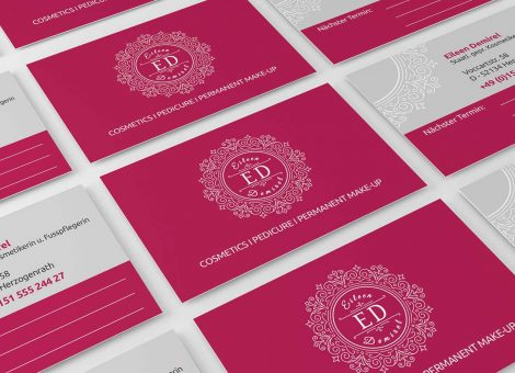 Visitenkarte-Logo-ED-Kosmetik-Referenz