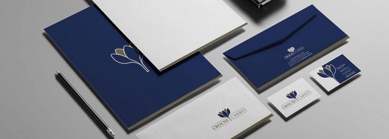 Corporate-Design-Crocus-Carrée-Ausstattung