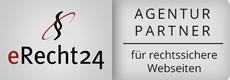 erecht24 Logo - Agentur für rechtssichere Webseiten