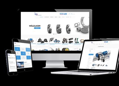 Webseite Ludwig Industriebedarf KLUCKMEDIA Werbeagentur