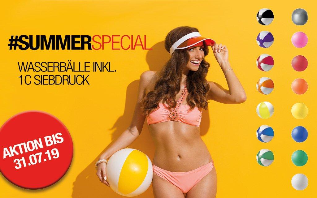 Summer Special Wasserbälle KluckMedia