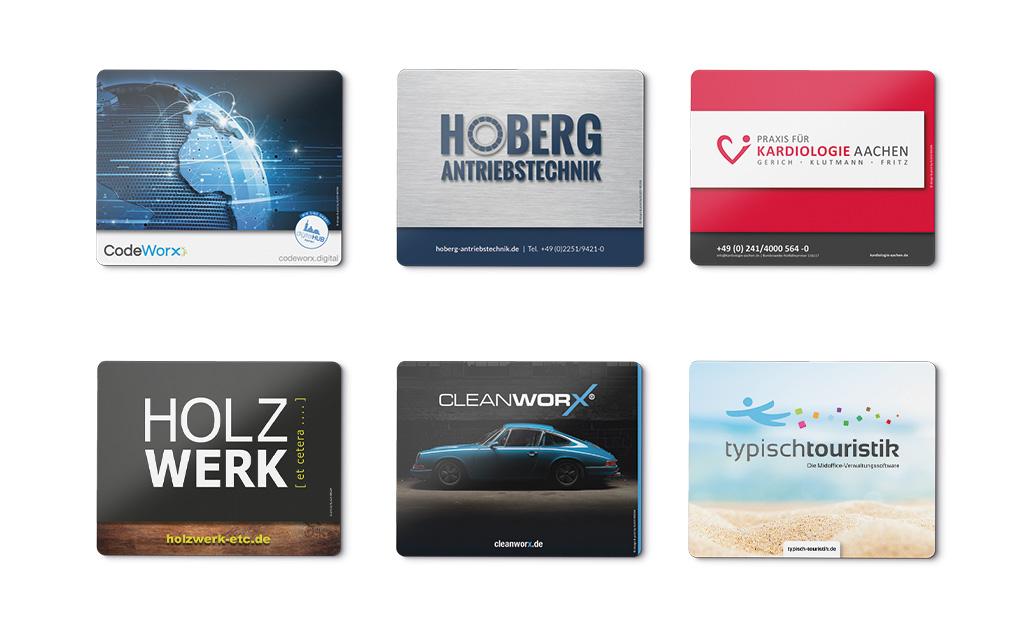 Mousepad KLUCKMEDIA Werbeagentur Werbemittel