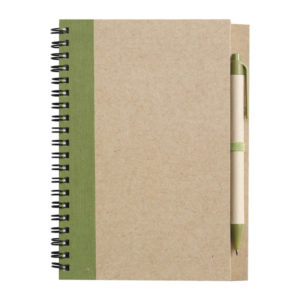 Notizbuch aus recyceltem Papier