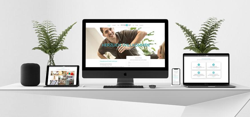 Physio 360 Grad Juelich Webseite